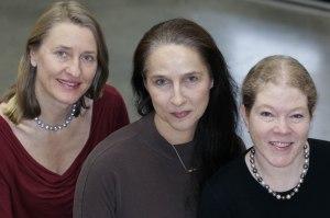 Pernilla, Geisla and Kristen